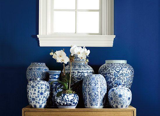 Blue And White Home Interior Design Naples Florida Diane Torrisi